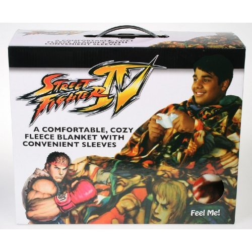 Street Fighter 4 snuggie slanket
