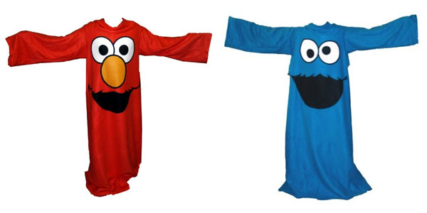 elmo cookie monster slanket