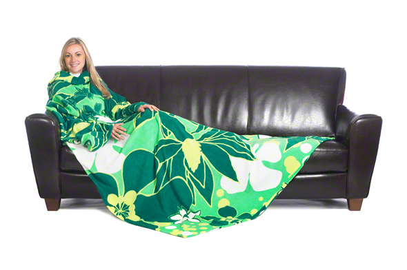 The Slanket - Floral Leaf Green