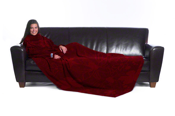 The Slanket - Floral Leaf Red