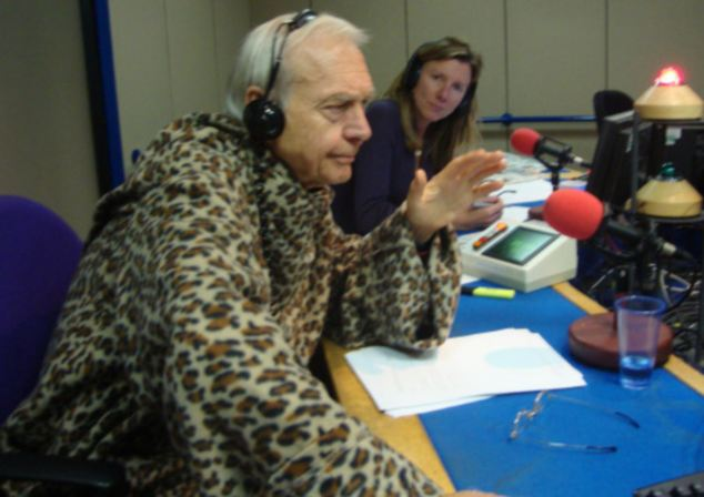 John Humphrys in a Slanket