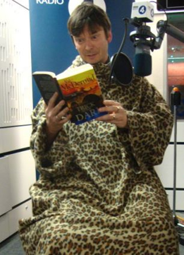 Ian Rankin in a Slanket