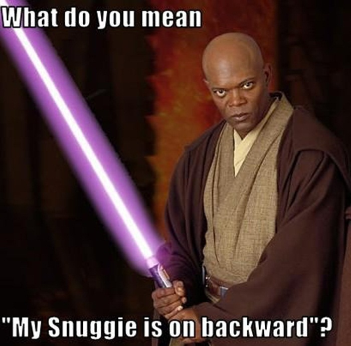 snuggie backwards